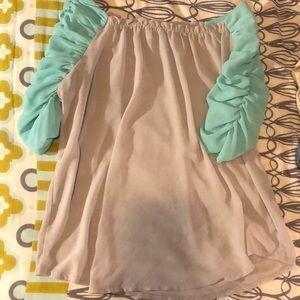 TCEC Tops - Sheer blouse